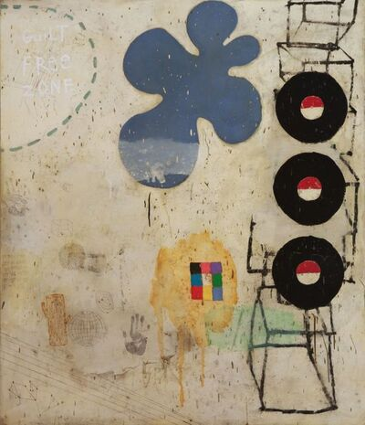 Squeak Carnwath, 'Force Field', 2006