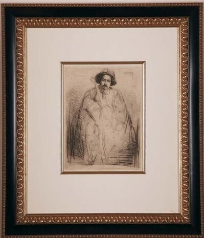 James Abbott McNeill Whistler, 'Becquet', ca. 1859