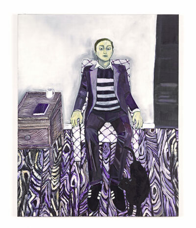 Raffi Kalenderian, 'Self Portrait (Purple Haze)', 2007