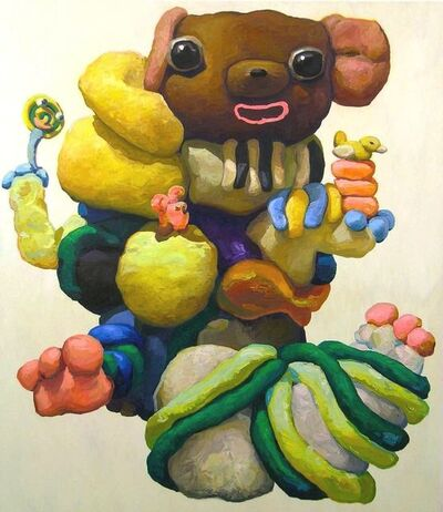 Peter Opheim, 'Mouse and Pink Rabbit', 2015 BCE