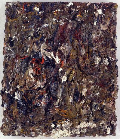 """Eugène Leroy, '""""Tête dans un paysage""""', 1996"""