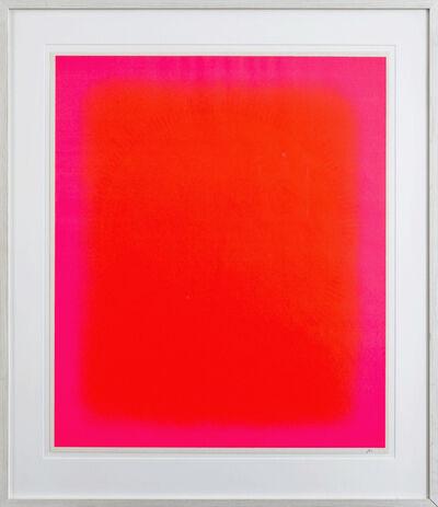 Rupprecht Geiger, 'Das zentrale Rot', 1975