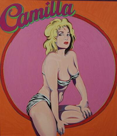 Mel Ramos, 'Camilla', 1980