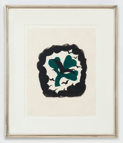Georges Braque, 'Le Trefle From: Lettera Amorosa', 1963
