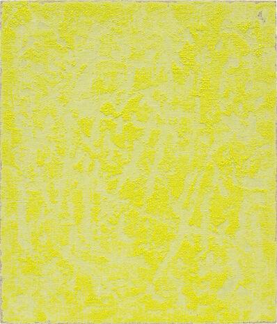 Evan Nesbit, 'Porosity (Yellow Tablet)', 2014