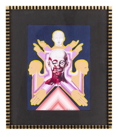 Pedro Friedeberg, 'El ojo triskadecafóbico ', 2016
