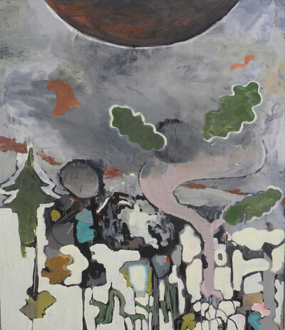 "Benedikt Gahl, '""o.T. (Landschaft)""', 2017"