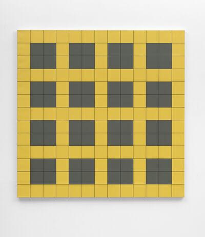 Reinhard Voigt, 'Untitled (yellow-grey)', 1993