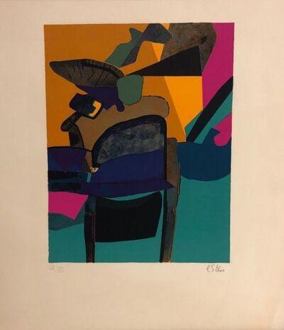 Maurice Estève, 'Bossaille ', 1974