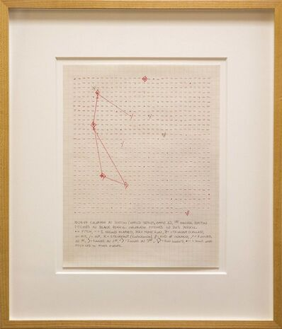 Janet Cohen, '10-24-07 Colorado at Boston (World Series, Game 1), 1st Inning, Estimating Time', 2007