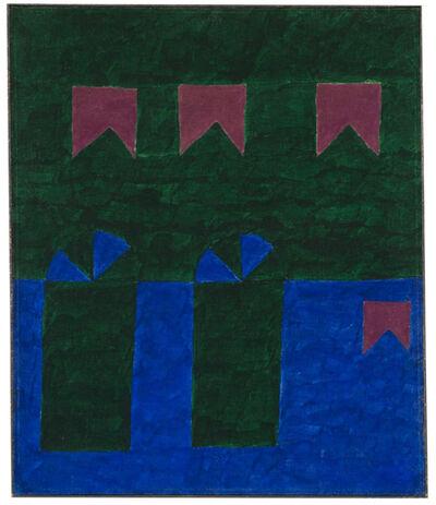 Alfredo Volpi, 'Untitled (Fachada com bandeiras VI)', Early 1960's