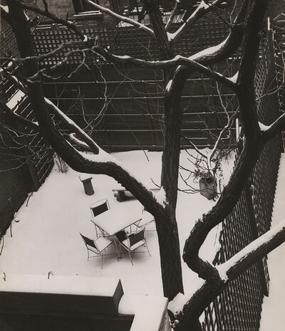 André Kertész, 'Backyard in Snow, New York', 1944 / 1944