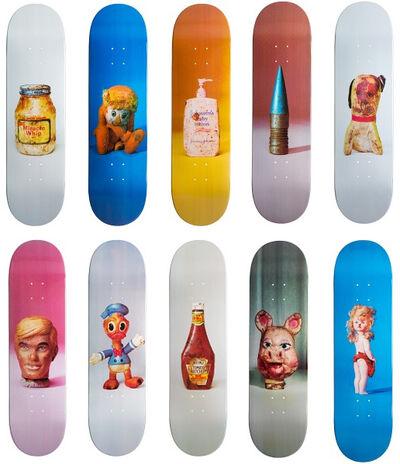 Paul McCarthy, 'Set of Ten Skateboards', 2015