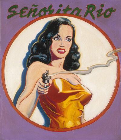 Mel Ramos, 'Señorita Rio - Queen of the Spies', 1963