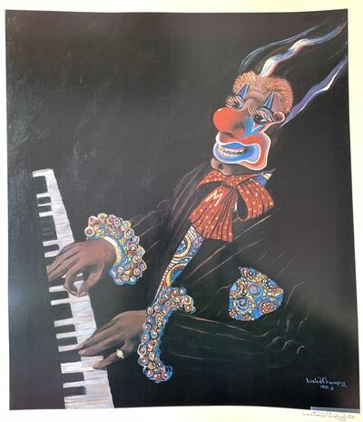 Lucien Crump, 'Clown Playing Piano ', 1989