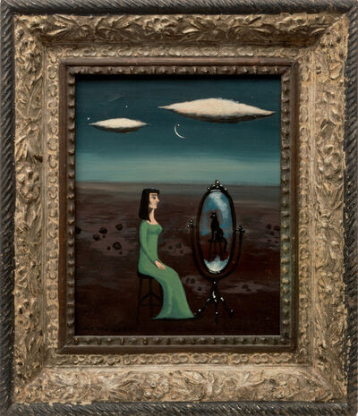Gertrude Abercrombie, 'Self-Reflection', 1953