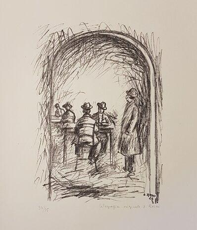 Ottone Rosai, 'Tavern', 1944