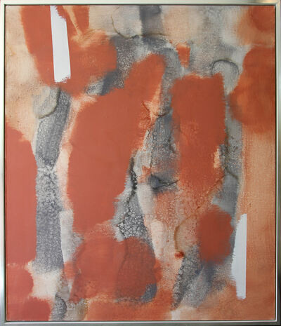 Carl Holty, 'Untitled (Red, Gray) #2', 1969