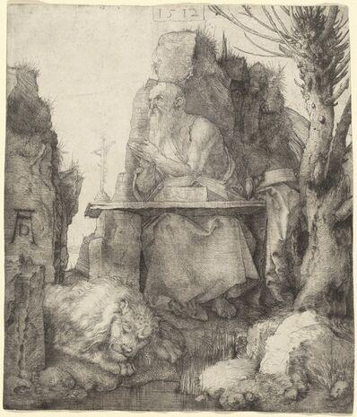 Albrecht Dürer, 'Saint Jerome by the Pollard Willow', 1512