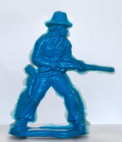 Yoram Wolberger, 'Blue Cowboy #2 (Rifleman)', 2008