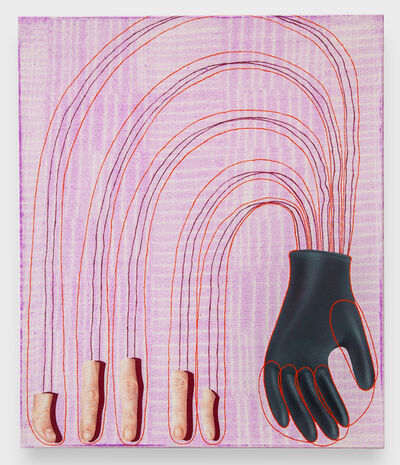 Veronika Pausova, 'a fingerless glove', 2020