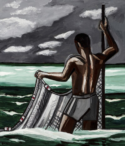 David Bates, 'Surf Net II', 2018
