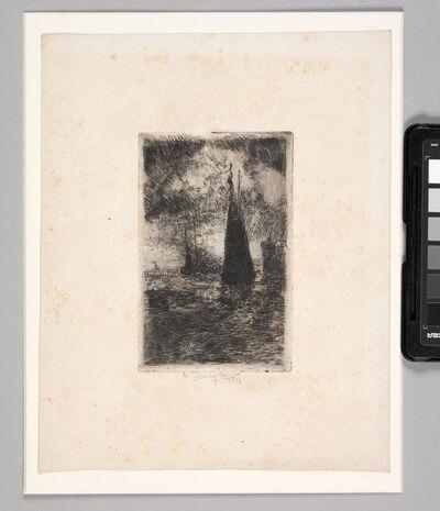 William J. Forsyth, 'Sailboats', 1911