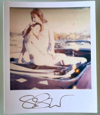Stefanie Schneider, 'Stefanie Schneider Polaroid sized Minis - Making out in Car (Till Death do us Part) - signed, loose', 2005
