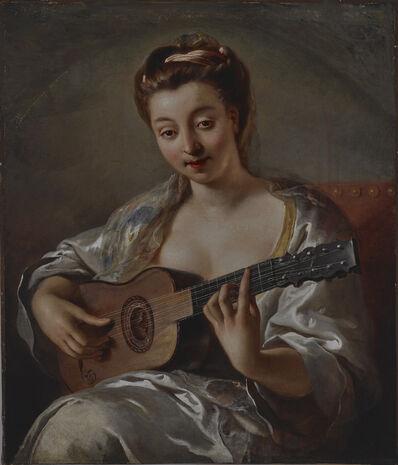 Jean-François de Troy, 'The Guitar Player (Femme à la guitare)', First half of 18th century