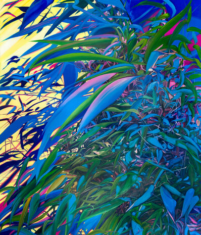 Kate Bright, 'Blue Bamboo', 2018