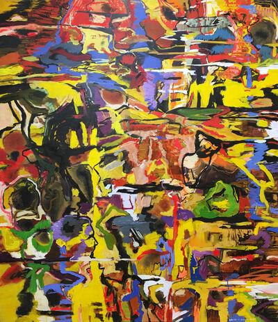 David Alexander, 'Yellow Tapestry Water', 2019