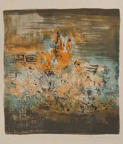 Zao Wou-Ki 趙無極, 'Untitled', 1959