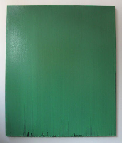 Joseph Marioni, 'Green Painting', 2001