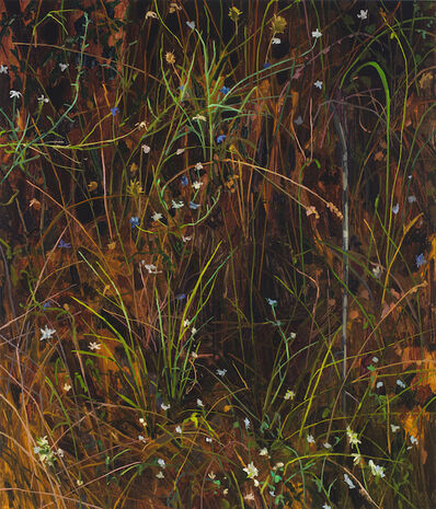 Claire Sherman, 'Grass and Flowers ', 2020