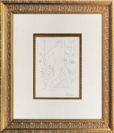 Pablo Picasso, 'SCULPTURE D'UN JEUNE HOMME A LA COUPE (BLOCH 179)', 1933