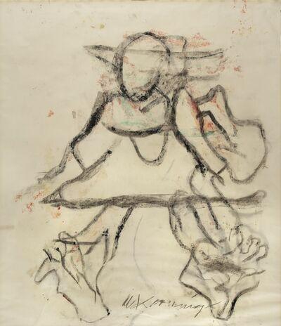 Willem de Kooning, 'Figure', circa 1972