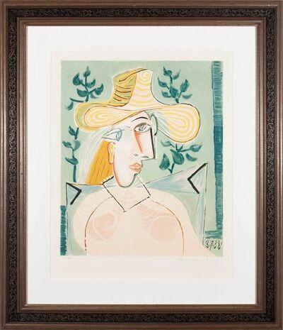 Pablo Picasso, 'Femme a la collerette', 1938; 1979-82