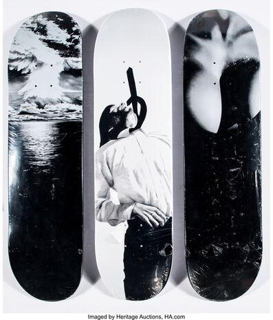 Supreme X Robert Longo, 'Skate decks, set of three', 2011