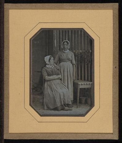 Jean-Gabriel Eynard, 'Portrait of Two Servants: Lisette Gilliard and Susette', 1847-1850