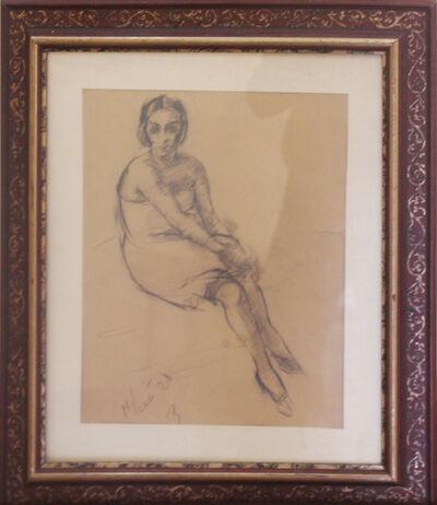 Viktor Ufimtsev, 'Woman', 1928