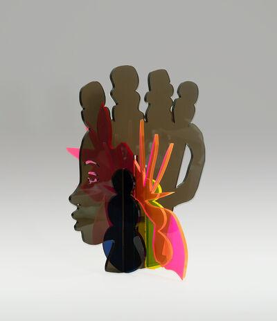 Nkechi Ebubedike, 'Head Vase I', 2020