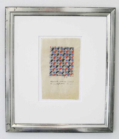 Sonia Delaunay, 'Composition- Ref. Nr. G 107', 1927