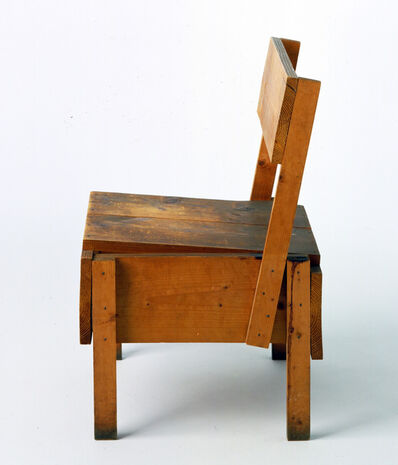 Enzo Mari, 'Proposal forun'autoprogettazioneSedia chair (Proposta perun'autoprogettazione (sedia))', 1973