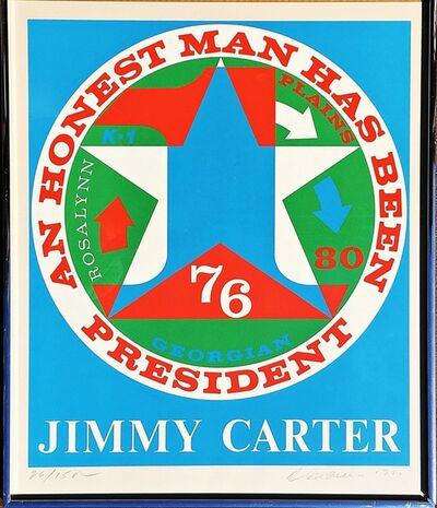 Robert Indiana, 'For Jimmy Carter: An Honest Man Has Been President (Sheehan, 112)', 1980