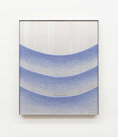 Mimi Jung, '110817 Blue Cascading Ellipses', 2020
