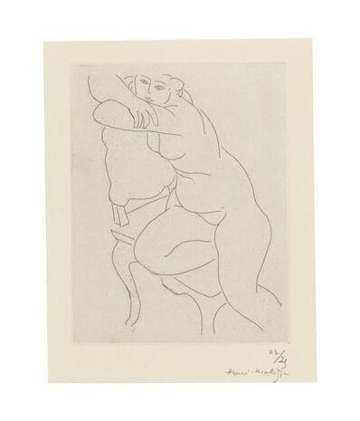 Henri Matisse, 'Nu au fauteuil', 1935