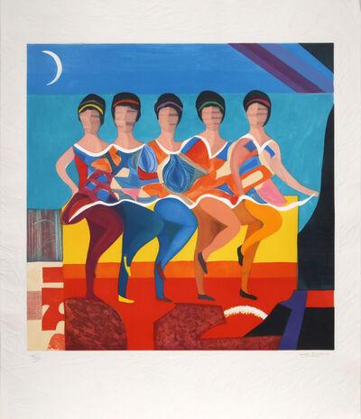 Max Papart, 'American Ballet', ca. 1982