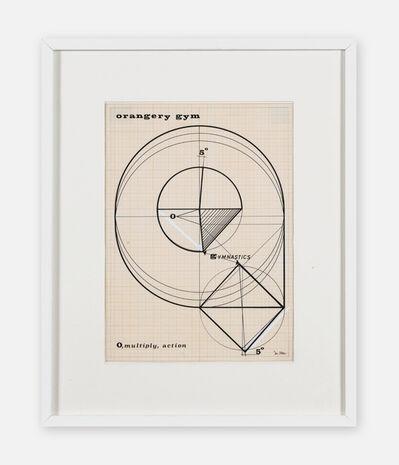 Nobuya Abe, 'Orangery Gym 3', 1969
