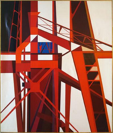 Edmund Lewandowski, 'Blast Furnace', 1975