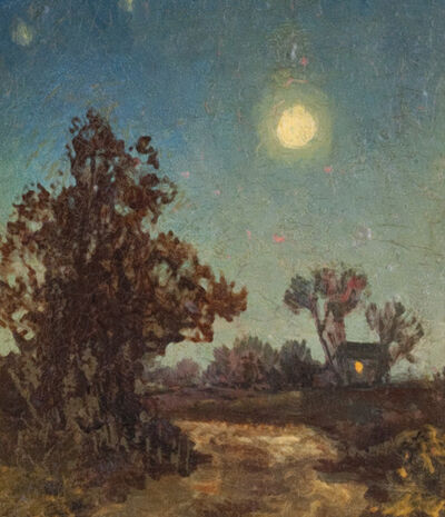 Ralph Albert Blakelock, 'Moonlit Stream'